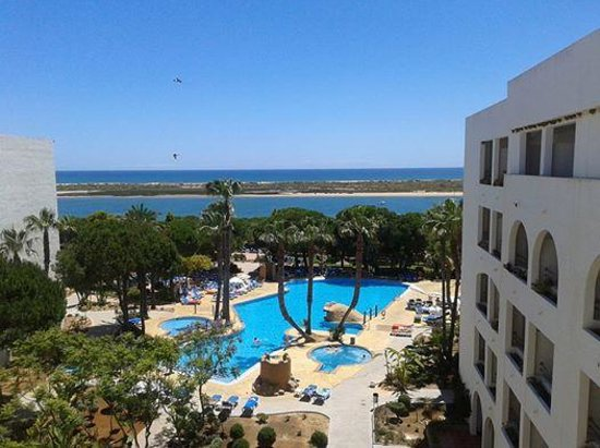 Playacartaya Spa Hotel: vista do meu quarto