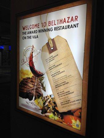 Belthazar Restaurant and Wine Bar: locandina