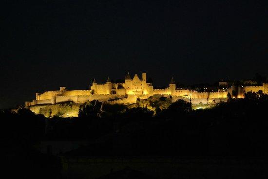 Entre Bastide et Cite: Vue de la terrasse