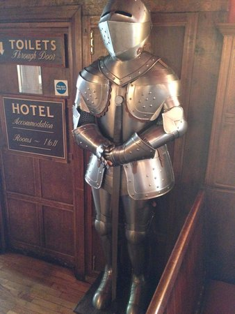 The White Hart Hotel: doorman