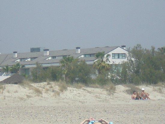 Hotel Els Arenals: Vista da praia