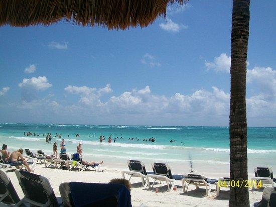 Grand Palladium Kantenah Resort & Spa: playa kantenah