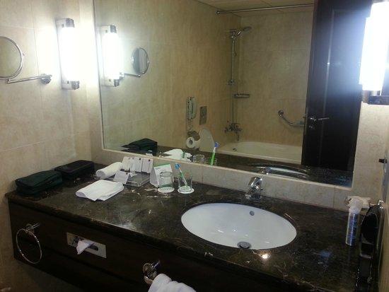 Raouche Arjaan by Rotana: Bathroom, Not many amenities.
