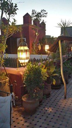 Riad Tamarrakecht : Roof terrace