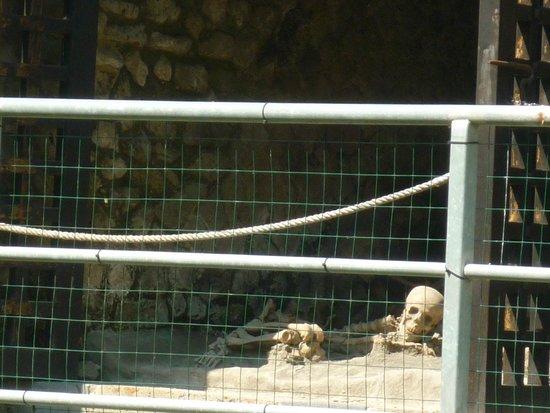 Ruins of Herculaneum: resti delle vittime