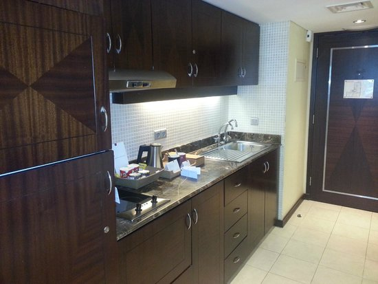 Raouche Arjaan by Rotana: I didn't use it but, pantry area can be convenient for many