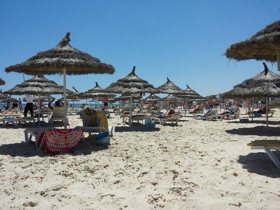 Tour Khalef Marhaba Thalasso & Spa : on the beach