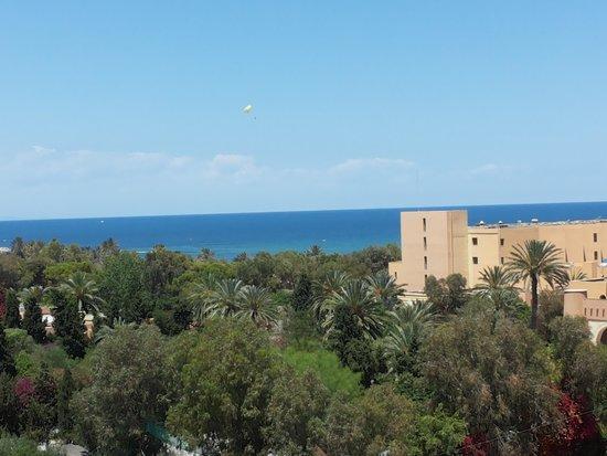 Tour Khalef Marhaba Thalasso & Spa : the other side sea view