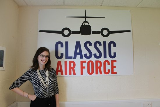 Classic Air Force: Heather - the manager at Classsic Air Force