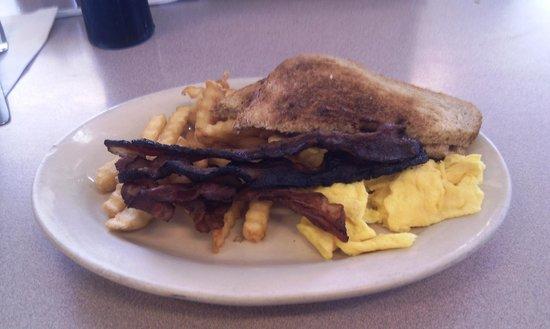 Clayton's Coffee Shop: Food