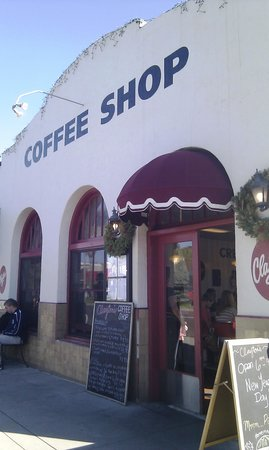 Clayton's Coffee Shop: Front