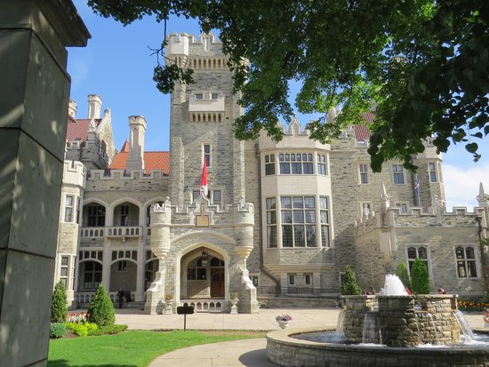 Front of Casa Loma