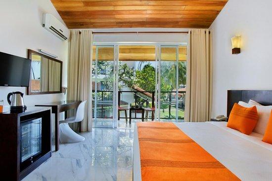Calamander Unawatuna Beach: Deluxe room