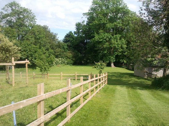 Stinchcombe, UK: Some of the grounds - perfect for picnic's