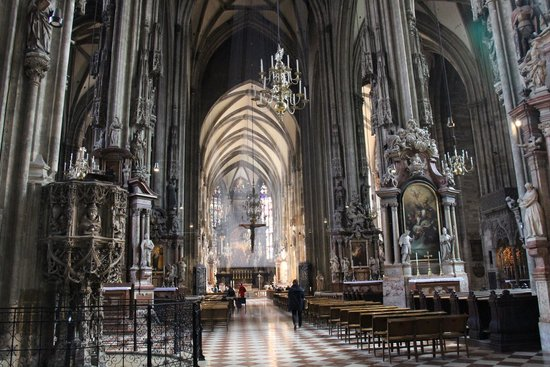 Stephansdom: Внутри