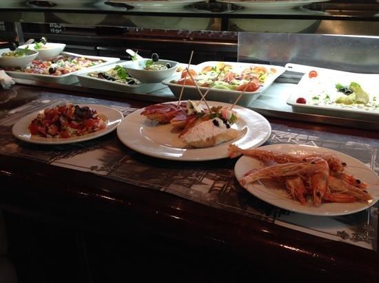 Restaurante Navarra: Cold selection