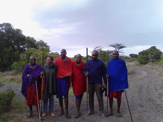 Porini Rhino Camp : Group photo