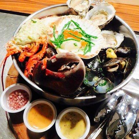 Hamasger 5 : seafood platter