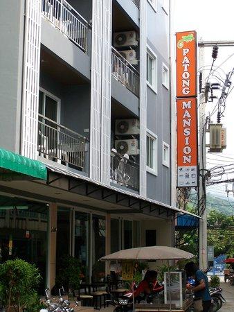 Patong Mansion Hotel : entrada principal