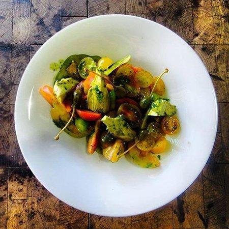 Hamasger 5 : tomato salad