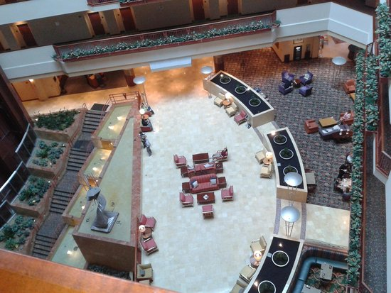 Renaissance Dallas Richardson Hotel : Vista del lobby