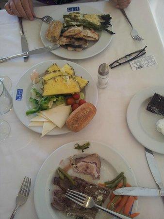 Hotel Florida Park : Завтрак