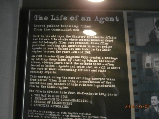 Memento Park: Life of a Secret Agent movie sign