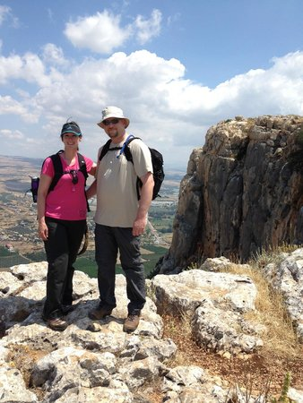 Arbel National Park : Before the hike