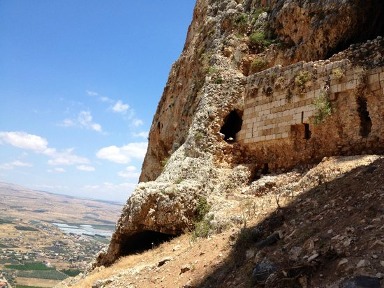 Arbel National Park : The cave fortress