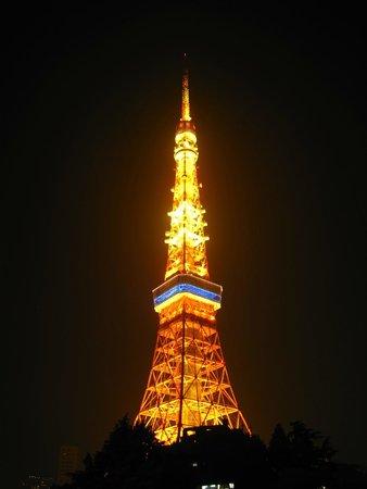 Tokyo Prince Hotel: 東京タワーがこんなに近くに