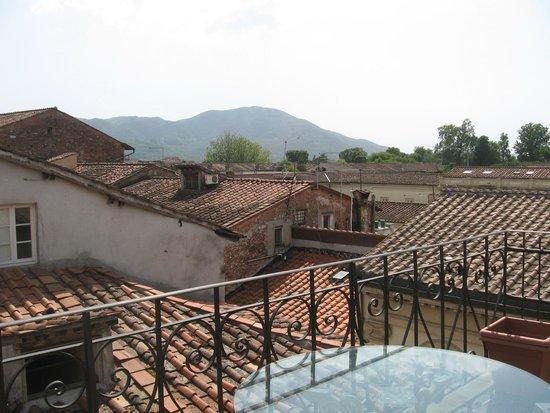 Hotel Palazzo Alexander: View from balcony