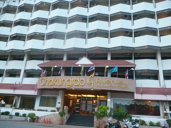 Chakungrao Riverview Hotel: facase hotel