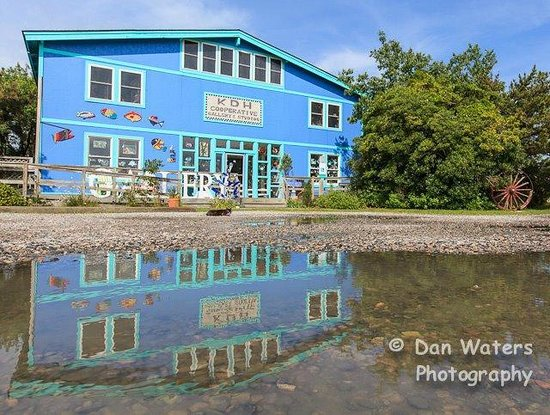 KDH Cooperative Gallery and Studios: Dan Waters photography, great reflection of the building