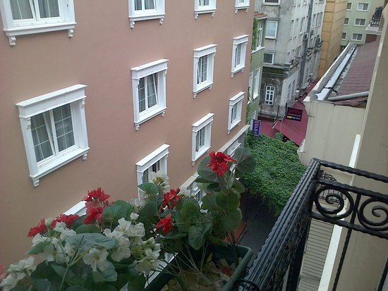 Hotel Evsen : terrace view