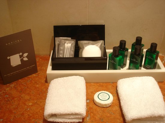 Sofitel Paris La Defense: produit bain