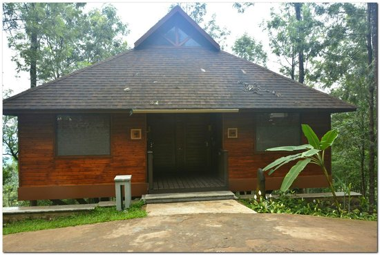 The Tamara Coorg : room entrance