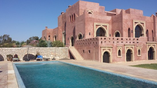 Villa Gonatouki: View from the end of the pool