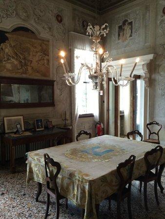 Villa Valmarana ai Nani: Интерьер