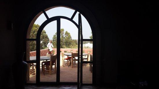 Villa Gonatouki: Terrace from the lounge
