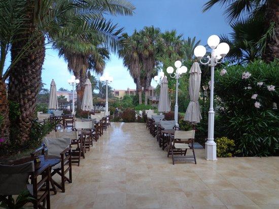 Atrium Palace Thalasso Spa Resort & Villas : vue du bar intérieur