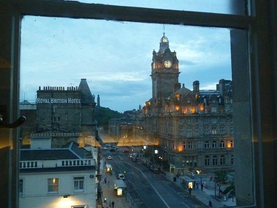 Travelodge Edinburgh Central Princes Street: View