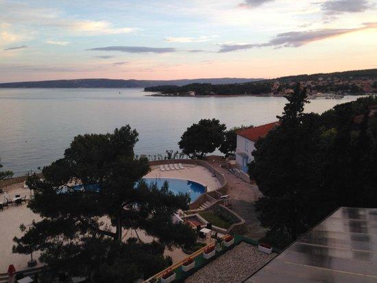 Drazica Hotel : tramonto