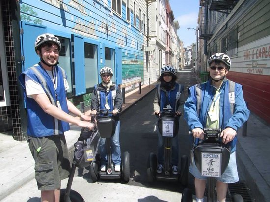 Electric Tour Company Segway Tours: Me