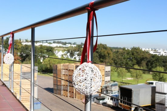 De Zalze Lodge: Venue Balcony / Conference