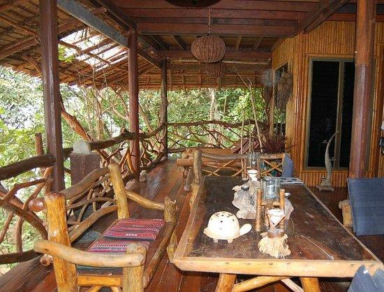 Viking Natures Resort: терраса в бунгало