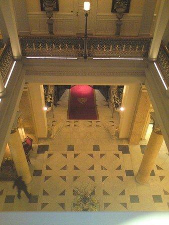 Beau-Rivage Palace : Hall aile Beau Rivage