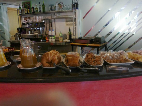 Hotel Mavi: Desayuno buffet