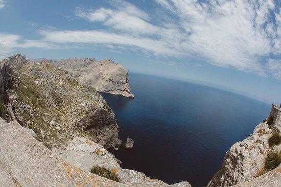 Cap de Formentor: Вид сверху