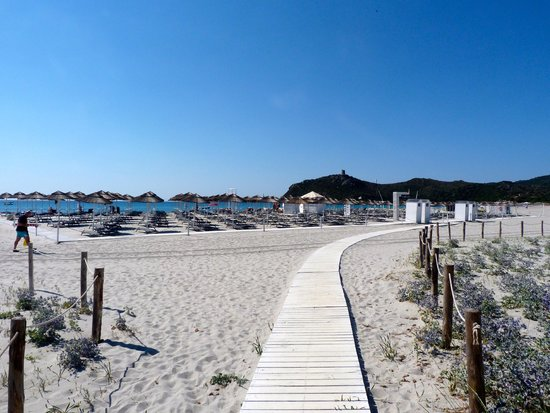 Pullman Timi Ama Sardegna : One of the most beautiful beaches I have ever visited