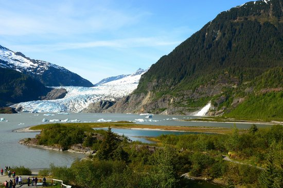 Juneau Tours: Mendenhall Glacier and Nugget Falls